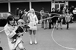 Shrove Tuesday  Skipping, Scarborough, Yorkshire, England 1974