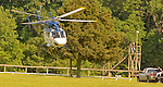 23 May 09:  Rider Padge Whelan is transported by a medical air ambulance after a spill in the Valentine memorial Sport of Queen's Stakes at the Fair Hill Steeplechase Races in Maryland
