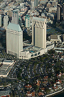 aerial photograph of the Hotel Manchester Grand Hyatt, San Diego, California