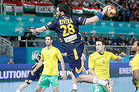 Spain's Valero Rivera Folch during 23rd Men's Handball World Championship preliminary round match.January 15,2013. (ALTERPHOTOS/Acero) /NortePhoto