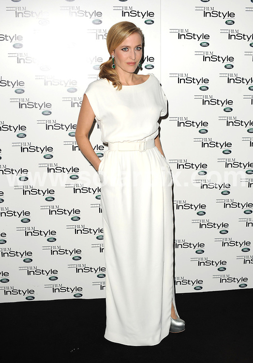 **ALL ROUND PICTURES FROM SOLARPIX.COM**                                             **WORLDWIDE SYNDICATION RIGHTS**                                                                                  'Film InStyle' in association with Land Rover celebrating InStyle Magazine's 10th Anniversary at The Sanctum Soho Hotel in London on November 22, 2011                                                                         This pic:   Gillian Anderson                                                                                 JOB REF:   14228    LNJ       DATE:  23.11.11                                                          **MUST CREDIT SOLARPIX.COM OR DOUBLE FEE WILL BE CHARGED**                                                                      **MUST AGREE FEE BEFORE ONLINE USAGE**                               **CALL US ON: +34 952 811 768 or LOW RATE FROM UK 0844 617 7637**