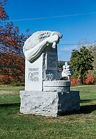Vermont Granite Museum, Barre, Vermont, USA.