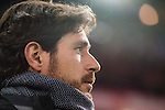 Coach Victor Sanchez del Amo of Real Betis Balompie looks on during their La Liga 2016-17 match between Atletico de Madrid vs Real Betis Balompie at the Vicente Calderon Stadium on 14 January 2017 in Madrid, Spain. Photo by Diego Gonzalez Souto / Power Sport Images