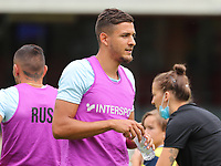 Christian Albert Burgess (16) of Union during the warm up before a preseason friendly soccer game between Tempo Overijse and Royale Union Saint-Gilloise, Saturday 29th of June 2021 in Overijse, Belgium. Photo: SPORTPIX.BE   SEVIL OKTEM