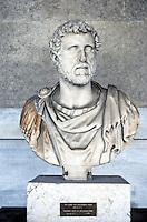 Greek Art:  Bust of Antoninus Pius.  Athens.  Photo '82.