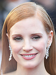 NON EXCLUSIVE PICTURE: MATRIXPICTURES.CO.UK<br /> PLEASE CREDIT ALL USES<br /> <br /> WORLD RIGHTS<br /> <br /> Jessica Chastain attending the 'Okja' screening, during the 70th Cannes Film Festival, France.<br /> <br /> MAY 20th 2017<br /> <br /> REF: RHD 171023