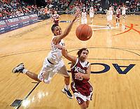 Virginia women's basketball player Britnee Millner.