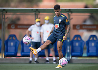 7th October 2020; Granja Comary, Teresopolis, Rio de Janeiro, Brazil; Qatar 2022 qualifiers; Philippe Coutinho of Brazil during training session
