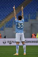 Francesco Acerbi of Lazio during the Serie A football match between SS Lazio and ACF Fiorentina at Olimpico stadium in Roma (Italy), January 6th, 2021. Photo Andrea Staccioli / Insidefoto