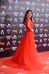 Paula Echevarria attends to the Red Carpet of the Goya Awards 2017 at Madrid Marriott Auditorium Hotel in Madrid, Spain. February 04, 2017. (ALTERPHOTOS/BorjaB.Hojas)