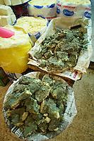 Blue goats cheese, the Bazaar of Konya, Turkey