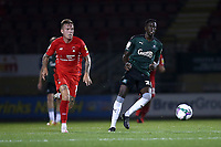 Jordan Maguire-Drew of Leyton Orient and Panutche Camara of Plymouth Argyle during Leyton Orient vs Plymouth Argyle, Caraboa Cup Football at The Breyer Group Stadium on 15th September 2020