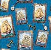 Interlitho, Kim, GIFT WRAPS, paintings, sailing ships(KL7060,#GP#) everyday