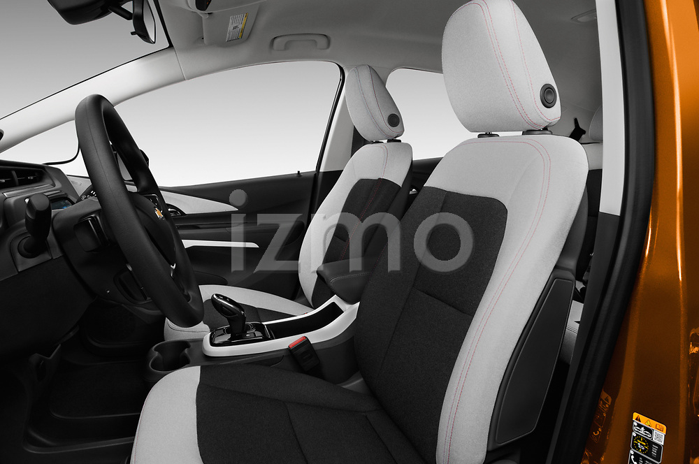 Front seat view of 2017 Chevrolet Bolt-EV LT 5 Door Hatchback Front Seat  car photos