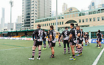 East Hotel HK Scottish Exiles vs Irish Vikings during day 1 of the 2014 GFI HKFC Tens at the Hong Kong Football Club on 26 March 2014. Photo by Juan Flor / Power Sport Images