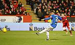 06.02.2019 Aberdeen v Rangers: James Tavernier scores from the spot