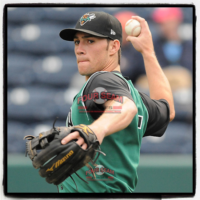 #OTD On This Day, May 11, 2009, Charlie Culberson (5) of the Augusta GreenJackets, the No. 27-rated prospect for the San Francisco Giants, played a game against the Greenville Drive at Fluor Field at the West End in Greenville, S.C. Culberson has played in San Francisco, Colorado, Los Angeles and is now with Atlanta. (Tom Priddy/Four Seam Images) #MiLB #OnThisDay #MissingBaseball #nobaseball #stayathome #minorleagues #minorleaguebaseball #Baseball #SallyLeague #AloneTogether