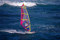 WIND SURFING near SANTA CRUZ - CALIFORNIA
