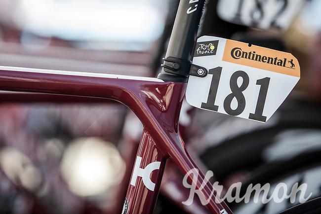 Ilnur Zakarin 's (RUS/Katusha Alpecin) bike race ready.<br /> Stage 5: Saint-Dié-des-Vosges to Colmar (175km)<br /> 106th Tour de France 2019 (2.UWT)<br /> <br /> ©kramon