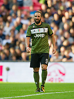 Juventus Gonzalo Higuain during the pre season friendly match between Tottenham Hotspur and Juventus at White Hart Lane, London, England on 5 August 2017. Photo by Andrew Aleksiejczuk / PRiME Media Images.