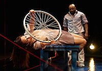 THE YEAR OF THE BICYCLE by Joanna Evans directed by Philip Boehm presented by Upstream Theater at Kranzberg Arts Center in St. Louis, Missouri on January 26, 2017.
