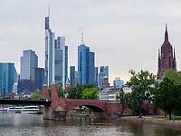 Dom und Skyline von Frankfurt, Hessen, Deutschland, Europa<br /> Dome and Skyline, Frankfurt, Hesse, Germany, Europe