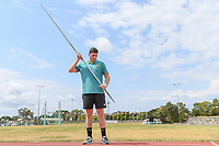 Tokyo 2020 - Preview / Corey Anderson<br /> Athletics (field) training camp QLD at the BLK Athletics Centre - Runaway Bay QLD<br /> Friday 11 Oct 2019 Paralympics Australia<br /> © STL / Jeff Crow / Paralympics Australia