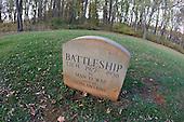 Grave of Marion duPont Scott's Battleship, Montpelier, Va.