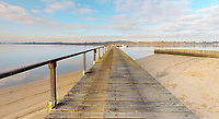 BNPS.co.uk (01202 558833)<br /> Pic: Albury&Hall/BNPS<br /> <br /> Long pier gives 24/7 access.<br /> <br /> Love Islands ? - Then this idyllic spot in the middle of Poole harbour in Dorset could be the perfect escape.<br /> <br /> 15 acre Round island has been put up for long term rent by its owners for £15,000 a month.<br /> <br /> For that the lucky tenants will get the use of three cottages with space for up to 20 people as well the services of two caretakers who live in another property on the island. <br /> <br /> They provide boat 15 minute boat rides to the mainland at the request of the tenants.<br /> <br /> The nearest shops, restaurants and amenities are three miles away in Poole and the exclusive resort of Sandbanks.