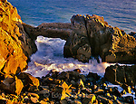 Sea Arch, Rock Outcrop, Point Mugu State Park, Santa  Monica National Recreation Area, California