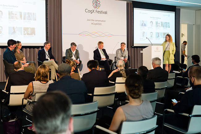 """CogX 2021 takes place as an online conference. The conference is 'A Global Leadership Summit and Festival of AI & Transformational Technology addressing the question """"How do we get the next 10 years right?."""" in London, Tuesday, 14th of June 2021. Photo: AMMP/Maciek Musialek"""
