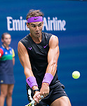 September 8,2019:  Rafael Nadal (ESP) defeated Daniil Medvedev (RUS) in a five set drama at the Men's Final at the US Open being played at Billie Jean King National Tennis Center in Flushing, Queens, NY.  ©Jo Becktold/CSM