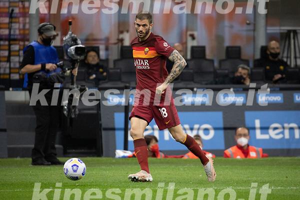 inter-roma - milano 12 maggio 2021 - 36° giornata Campionato Serie A - nella foto: santon