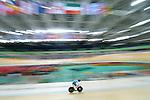 Tristen Chernove, Rio 2016 - Para Cycling // Paracyclisme.<br /> Tristen Chernove competes in the Para Cycling Men's C2 qualification 3000m individual pursuit // Tristen Chernove participe à la poursuite individuelle de 3000 m de qualification paracyclisme masculin C2. 09/09/2016.