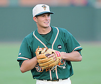 August 13, 2009: Infielder Daniel Pertusati (12) of the Greensboro Grasshoppers, Class A affiliate of the Florida Marlins, in a game at Fluor Field at the West End in Greenville, S.C. Photo by: Tom Priddy/Four Seam Images