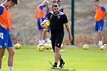 St Johnstone Training...  McDiarmid Park<br />Manager Callum Davidson pictured during training ahead of Saturday's opening league game of the season at Ross County.<br />Picture by Graeme Hart.<br />Copyright Perthshire Picture Agency<br />Tel: 01738 623350  Mobile: 07990 594431