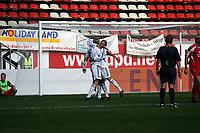 Steffen Schneider und Toni Kroos (FC Bayern M¸nchen) feiern das 1:3