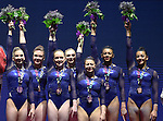 World Championships Gymnastics Womens Team Finals 27.10.15.
