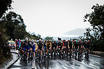Heavy rain falls during Stage 3 of Tour de France 2020, running 198km from Nice to Sisteron, France. 31st August 2020.<br /> Picture: ASO/Pauline Ballet | Cyclefile<br /> All photos usage must carry mandatory copyright credit (© Cyclefile | ASO/Pauline Ballet)