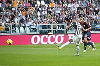 Goal di Arturo Vidal Juventus, Penalty, Goal Celebration,<br /> Torino 27-10-2013<br /> Juventus Stadium<br /> Football Calcio 2013/2014 Serie A <br /> Juventus-Genoa<br /> Foto Marco Bertorello Insidefoto