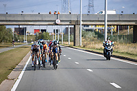 break away group<br /> <br /> Antwerp Port Epic 2020 <br /> One Day Race: Antwerp to Antwerp 183km; of which 28km are cobbles and 35km is gravel/off-road<br /> Bingoal Cycling Cup 2020