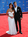 Brooke Burke & David Charvet  at The 62nd Anual Primetime Emmy Awards held at Nokia Theatre L.A. Live in Los Angeles, California on August 29,2010                                                                   Copyright 2010  DVS / RockinExposures
