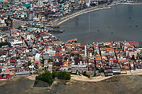 aerial photograph of Casco Viejo, San Felipe, the historic district of Panama City, Panama | fotografía aérea del Casco Viejo, San Felipe, el distrito histórico de la Ciudad de Panamá, Panamá