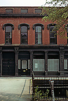 Savannah: Cotton Exchange--detail. Photo '76.