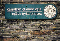 Wales, Offa's Dyke Information and Administrative Centre, Knighton, Powys.
