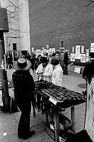 FILE PHOTO -  Sidewalk sale on McGilll-College street, April 1974.<br /> <br /> Photo : Alain Renaud<br />  - Agence Quebec Presse