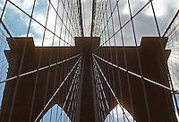 New York: Brooklyn Bridge--Manhattan Pier. Photo '78.