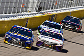 #20: Erik Jones, Joe Gibbs Racing, Toyota Camry Irwin SPEEDBOR and #11: Denny Hamlin, Joe Gibbs Racing, Toyota Camry FedEx Ground