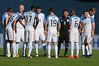 San Diego, CA - Sunday January 29, 2017: USMNT during an international friendly between the men's national teams of the United States (USA) and Serbia (SRB) at Qualcomm Stadium.