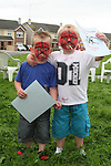 Alex Kinsella and Eamonn Canning who won certificates for penalty shot outs at the Annual Sports Day at the Commons, Duleek...Photo NEWSFILE/Jenny Matthews.(Photo credit should read Jenny Matthews/NEWSFILE)....This Picture has been sent you under the condtions enclosed by:.Newsfile Ltd..The Studio,.Millmount Abbey,.Drogheda,.Co Meath..Ireland..Tel: +353(0)41-9871240.Fax: +353(0)41-9871260.GSM: +353(0)86-2500958.email: pictures@newsfile.ie.www.newsfile.ie.FTP: 193.120.102.198.